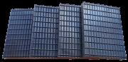 Rubber opnameblokken, 4 stuks