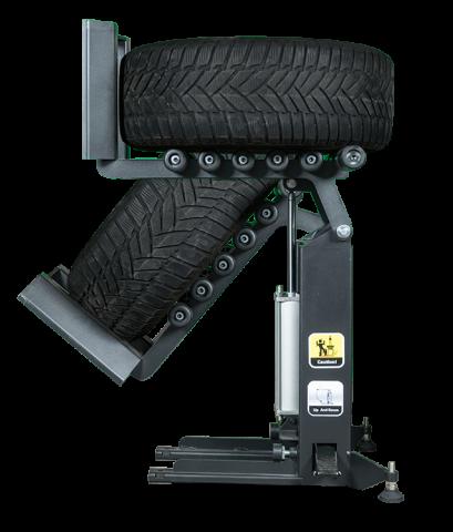 Wiellift kopen, model T100, voor liftbanden tot 60 kg