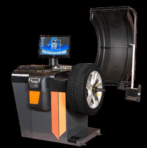 Balanceermachine model Z120 met laser kopen, compleet met LED-scherm, twee lasers, automatische invoer en vier programma's