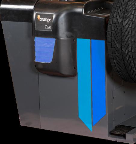 Blauwe balanceermachine kopen met laser, model Z120L