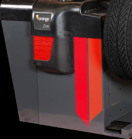 Rode balanceermachine kopen met laser, model Z120L